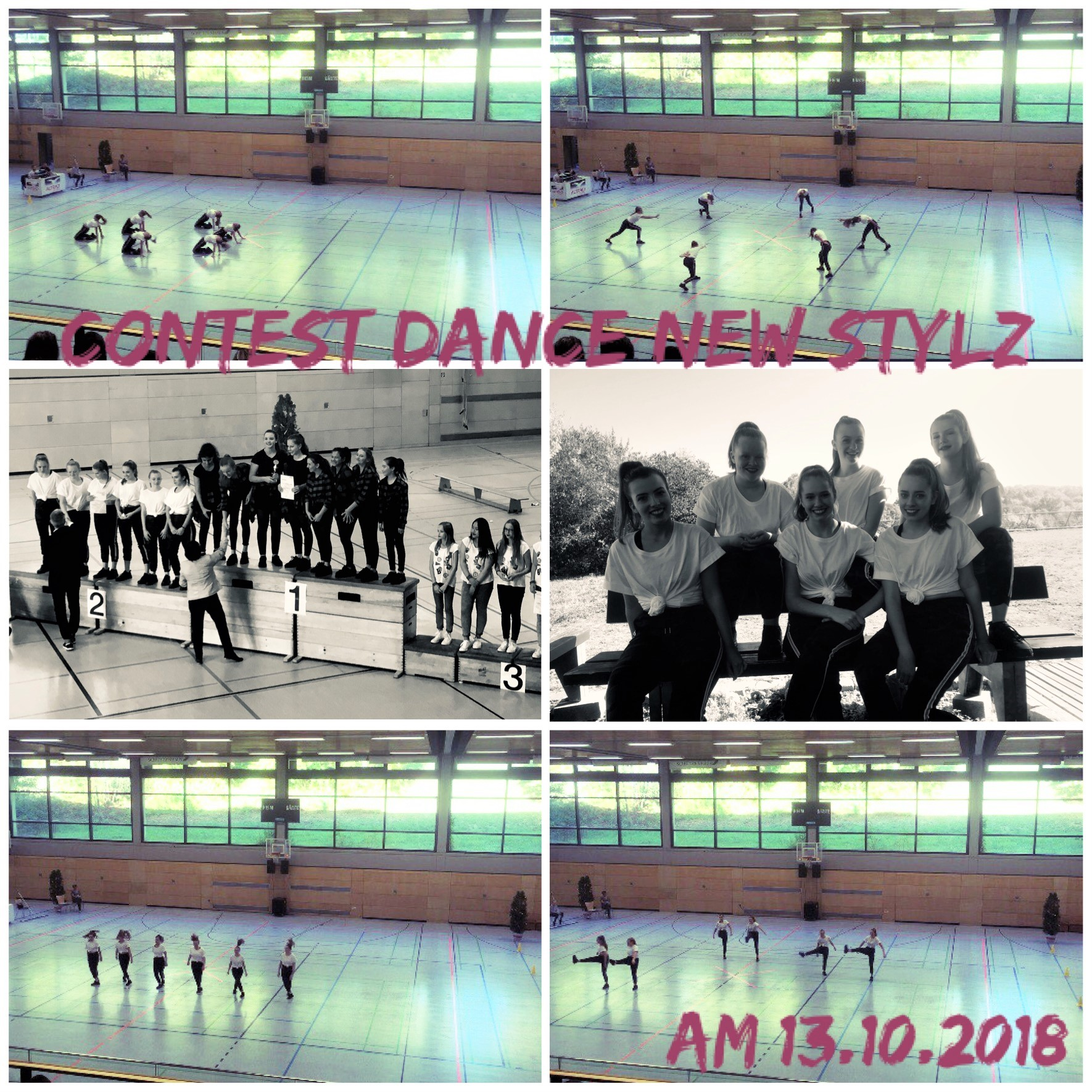 contest dance new styl